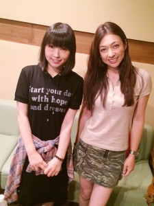 塚本奈々美さんと下田麻美さん